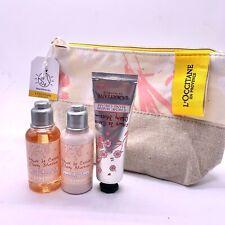NEW L'Occitane Captivating Cherry Gift Pack Shower Gel Body Lotion Hand Cream