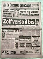 GAZZETTA DELLO SPORT 03 MAGGIO 1990 FINALE COPPA UEFA JUVENTUS-FIORENTINA 3-1