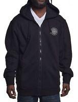 Sean John Men's $58 Phantom Black Full Zip Hoodie Jacket Size Medium