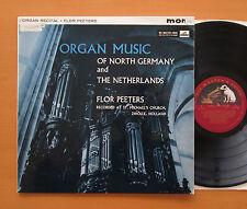 CLP 1442 Organ Music Of North Germany & Netherlands Flor Peeters 1961 HMV Mono