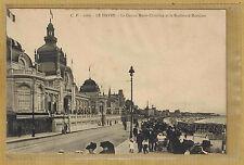 Cpa Le Havre - le casino Marie Christine et le boulevard maritime tp0328