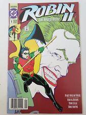 ROBIN II THE JOKER'S WILD #1-4 (1991) DC COMICS CHUCK DIXON NEWSSTAND #1 EDITION