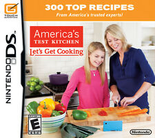America's Test Kitchen Lets Get Cooking for Nintendo DS game only
