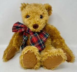 "1996 Avon Mr. Maxx Bear, Sleeping Teddy ,Soft Plush, 17"". Snores, Giggles, Moves"