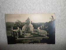 1920-24 BUDDHA Real Photo Postcard Samarkand Persian Hotel Santa Barbara Cal