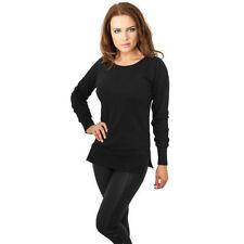 Lange Damen-Pullover & -Strickware ohne Muster mit M