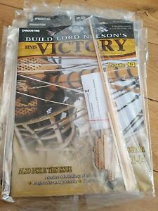 DEAGOSTINI BUILD LORD NELSON'S HMS VICTORY MODEL SHIP ISSUE 84 UNOPENED