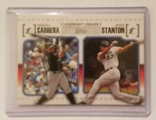 2010 Topps Legendary Lineage #LL66 Miguel Cabrera/Mike(Giancarlo) Stanton  NM<MT