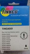 2 CARTOUCHES D'ENCRE PIXMA  NOIR TINCA002 (avec Puce)  - NEUF -
