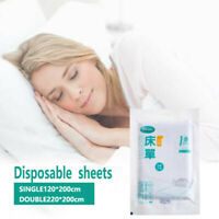 Breathable Disposable Non-woven Fabric White Dust-proof Bed Sheets Replacement