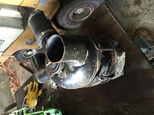 Ölbadluftfilter warm kalt Luftführung Gasmotor Mann Schlepper Traktor