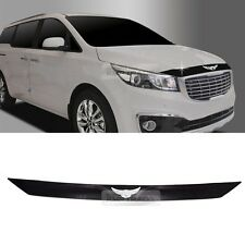 Front Bonnet Emblem Hood Guard Bug Shield Molding for KIA 15-17 Sedona Carnival