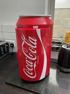 Coca Cola Mini Fridge Used Working Condition
