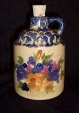Alpine Pottery Handpainted 1 Pint Jug USA