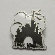 Disney WDW Magic Kingdom - Mickey & Cinderella's Castle Black White Pin