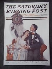 Saturday Evening Post March 22 1919 Norman Rockwell (COVER ONLY) reprint