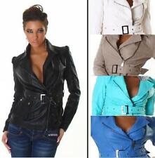 Zip Military Coats & Jackets Autumn for Women