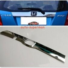 Chrome rear trunk molding trim cover For Honda FIT JAZZ 2009 2010 2011 2012