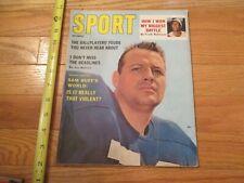 Sam Huff New York Giants Pro Football Sport Magazine 1961