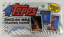 2003-04 Topps Basketball Factory Sealed Hobby Complete Set LeBron James Rookie