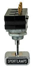 1970 Ford Mustang Mach 1 Sport Lamp Switch Assembly Ford Licensed Product