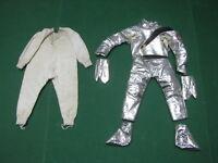 Vintage - Authentich 100% Gi Joe - 2 Suits Astronaut