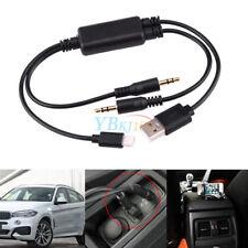 STEREO USB 3.5MM Adattatore AUX Cavo Di Interfaccia Per BMW Mini Cooper per iPhone 5 5s