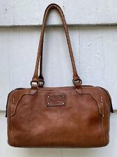 New ListingPatricia Nash 100% Italian Leather Brown Distressed Satchel Bag