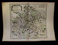[MAP - PICARDIE - SOMME]  SANSON d'ABBEVILLE - Carte d'Amiens. 1667.
