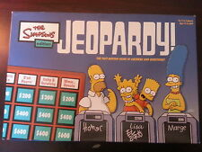 The Simpsons Jeopardy Edition Game / Unused