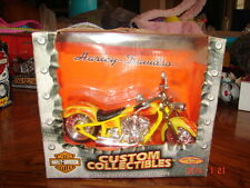 METAL MAXX HARLEY DAVIDSON FLSTF FAT BOY MOTORCYCLE 1:17 BIKE