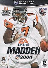 Madden NFL 2004 (Nintendo GameCube, 2003)