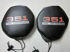 """Ford Falcon XW XY Driving Light Covers """"351 High Performance""""   NEW"""