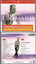 """HERBERT LEONARD """"Double d'Or"""" (CD+DVD Digipack) 2011 NEUF"""