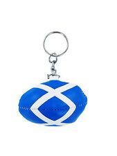 KEYCHAIN RUGBY FLAG SCOTLAND SCOTTISH  chain Key ring Keyrings union jersey