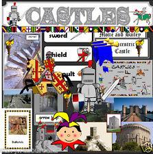 CASTLE TOPIC TEACHING RESOURCES KS1 KS2 Castles TOPIC  Teacher resource display