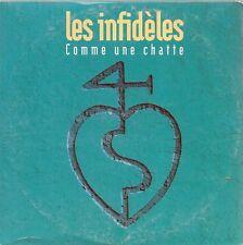 CD 2 TITRES--LES INFIDELES--COMME UNE CHATTE--1993