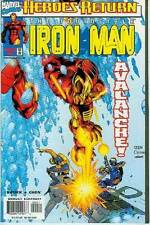 IRON Man (3rd Series) # 2 (Chen cover) (USA, 1998)