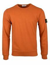 Stone Island AW19/20 Orange Crew Neck Sweatshirt 62720 BNWT!