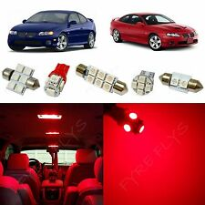 12x Red LED lights interior package kit for 2004-2006 Pontiac GTO PG1R