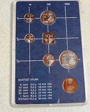 ARUBA -Pays Bas  Netherlands Nederland  Olanda 1986 SET Complet - FDC