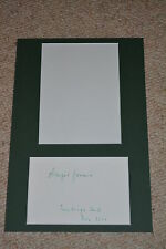 MARGOT HONECKER signed Original Autogramm 20x30 cm Passepartout DDR !!