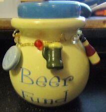 Beer Fund Charm Bank Honey Pot Bank