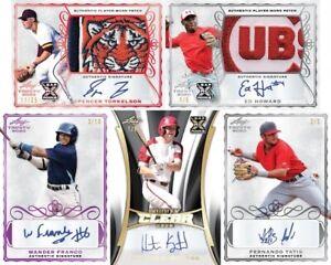 2020 LEAF Trinity Baseball Hobby Box FACTORY SEALED Free Shipping PRE ORDER