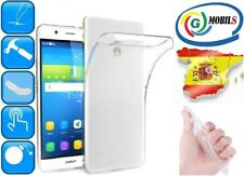 FUNDA GEL TRANSPARENTE CARCASA FLEXIBLE PARA HUAWEI Y6 PRO 2015 Clear