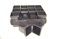 COMBO DEAL FROM 3 TO 30 CARRY TRAYS FOR 9CM SQUARE PLASTIC PLANT POTS AND  POTS