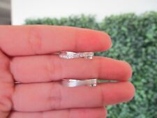.21 Carat Diamond White Gold Wedding Ring 18k WR145 sep *