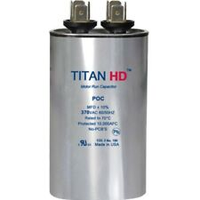 Aerovox Replacement Titan Hd Run Capacitor 50 Mfd 370V Oval 1685-MF-PCK By Titan