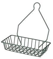Metal Shelf Hose Fitting Organiser Tap Hanger 23Lx12Wcm Green Coated Wire