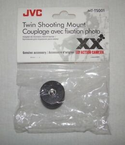 JVC MT-TS001 Twin Shooting Mount for HD Action Camera MT - TS001